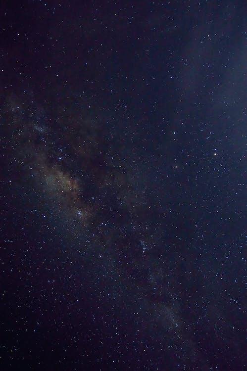 Milky Way Galaxy Seen on Sky