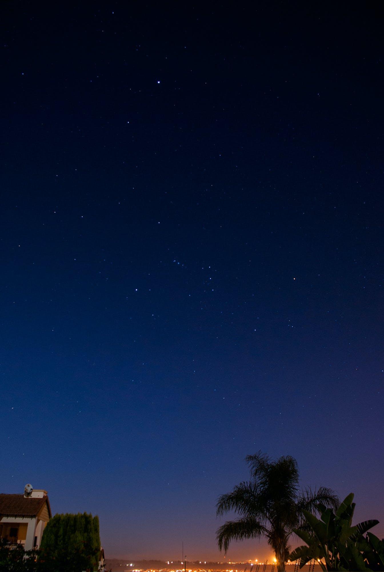 Darmowe zdjęcie z galerii z gwiazdy, gwiaździste niebo, letni wieczór, noc