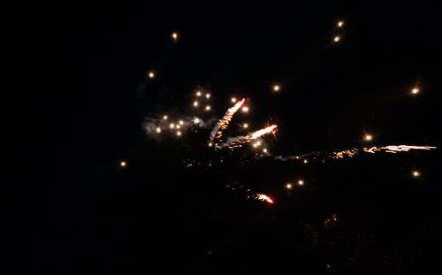 Free stock photo of fireworks, sparklers