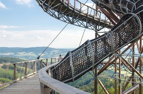 Gratis lagerfoto af bjerg, bro, dagslys, fægte