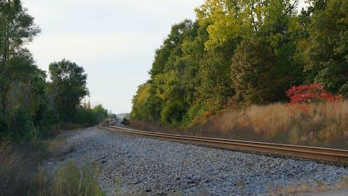 Gratis arkivbilde med jernbane, jernbanespor, michigan, waterford
