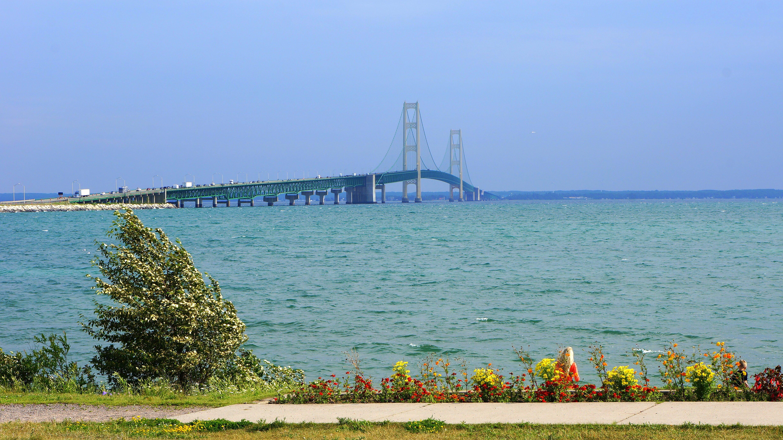 Free stock photo of bridge, mackinac, Mackinaw, michigan