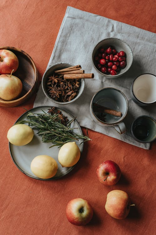 Photo Of Fruits And Spices On Table