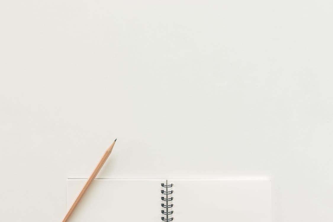 miejsce pracy, notatnik, notes