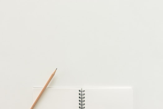 Free stock photo of notebook, pencil, workspace, paper