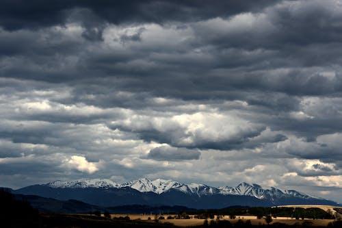 คลังภาพถ่ายฟรี ของ ดราม่า, ทุ่งโล่ง, ท้องฟ้า, ท้องฟ้าครึ้ม