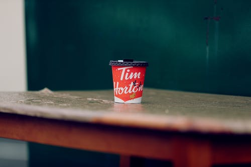 Free stock photo of cup, tim hortons
