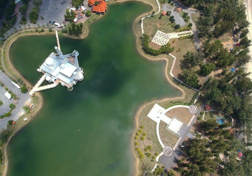 Free stock photo of bird's eye view, water, aerial, outdoors