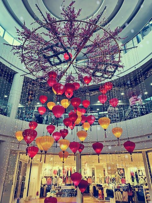 Gratis stockfoto met decoraties, lantaarnpalen, lantaarns, prachtig decor