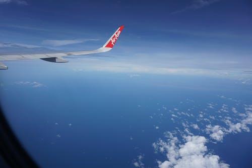 Free stock photo of airasia, airplane, top view
