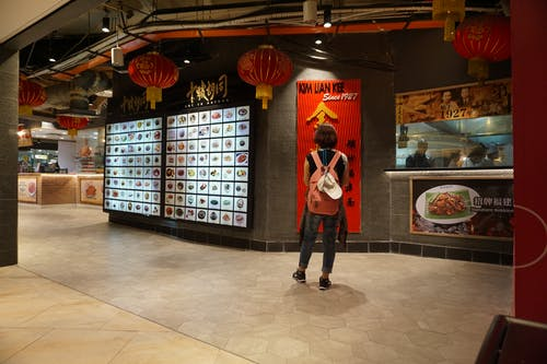 Free stock photo of asia, Food court, girl