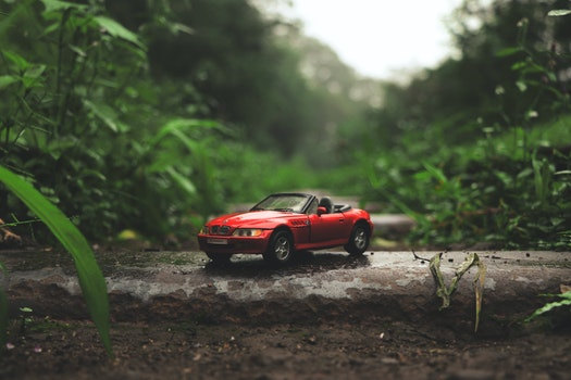 Free stock photo of car, soil, miniature, BMW