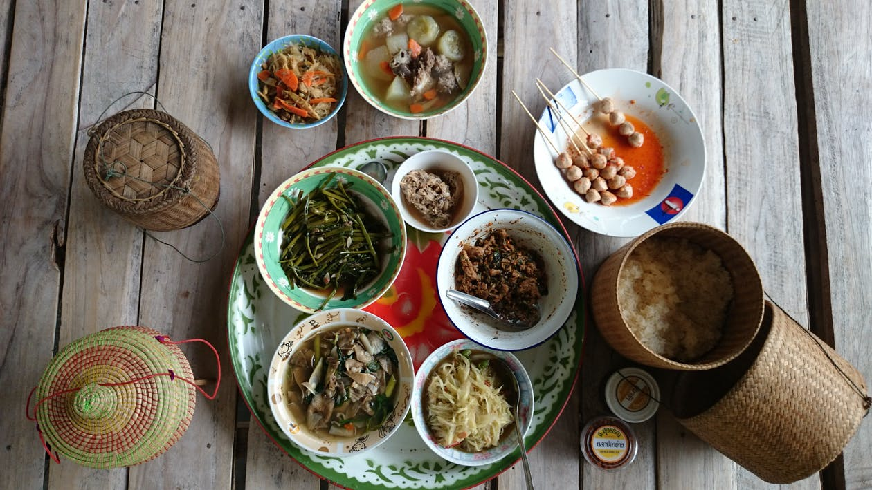 Free stock photo of esarn, local food, thailand