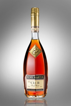 Remy Martinclub Wine Bottle on Table Top