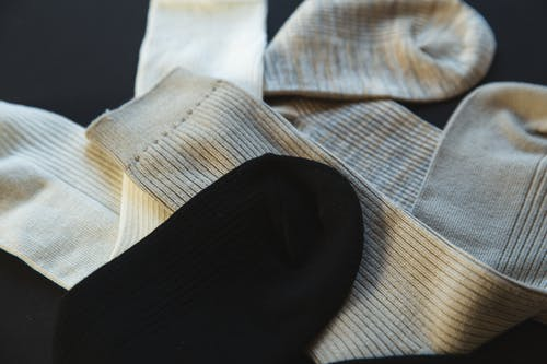 Collection of striped cotton socks for man