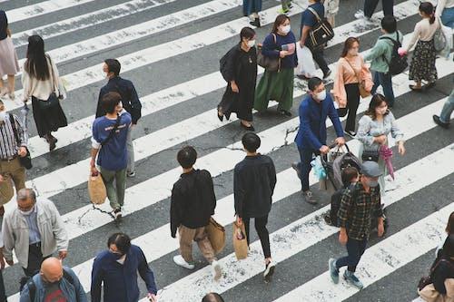 Бесплатное стоковое фото с город, городской, группа, движение