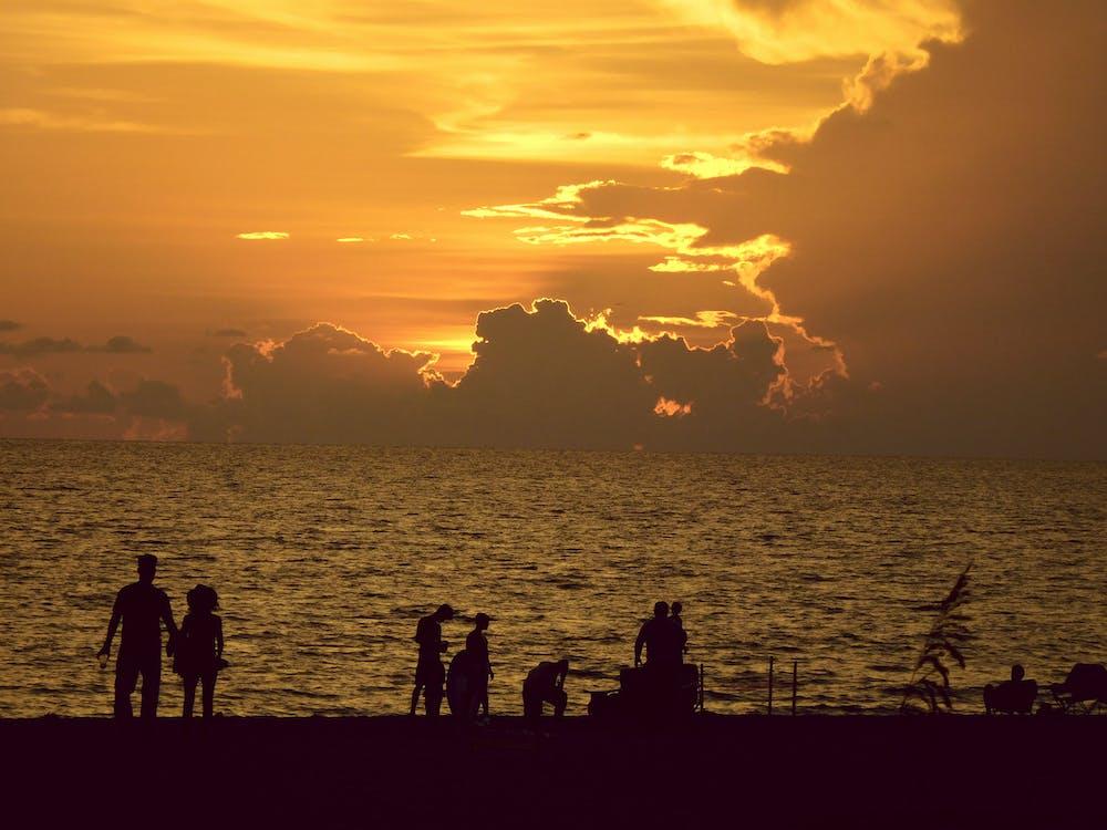 Free stock photo of evening sun, sun light, sunset