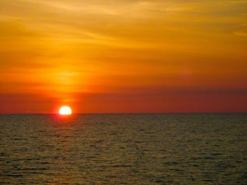 Free stock photo of evening sky, evening sun, sunset