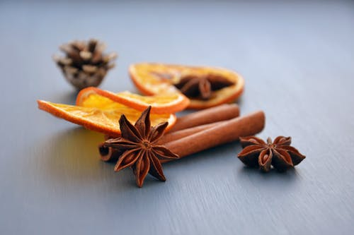 Free stock photo of anise, aroma, christmas