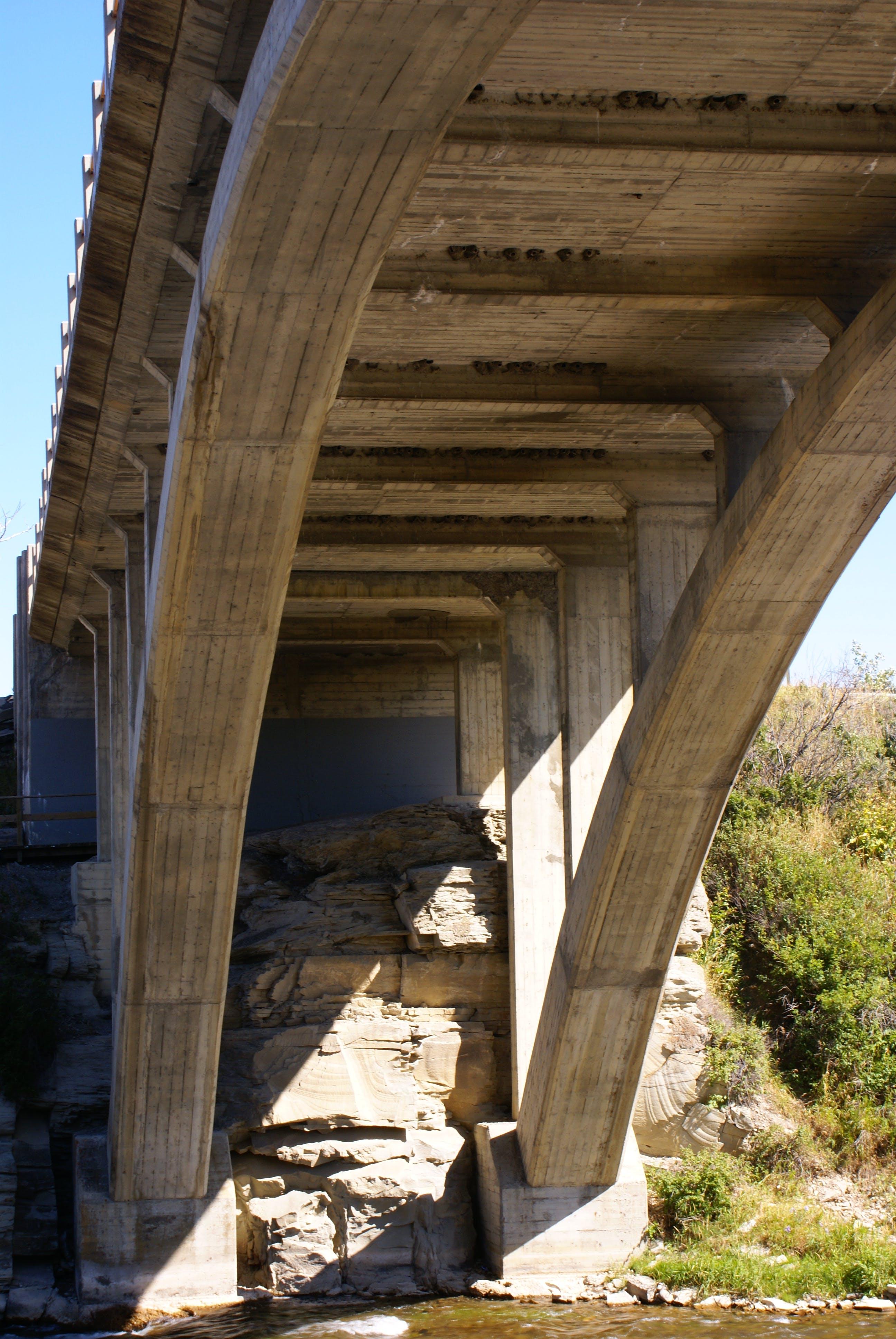 Kostenloses Stock Foto zu bogen, brückenbogen, brücke, lundbreckbrücke
