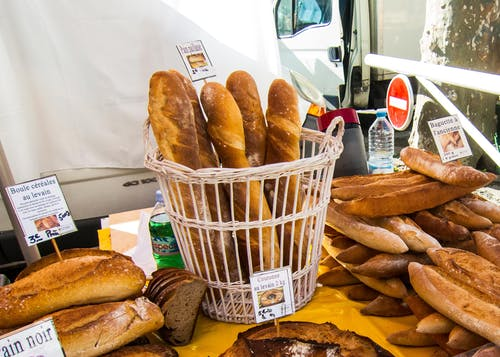 Gratis arkivbilde med bagett, brød