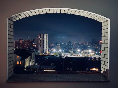 Fotos de stock gratuitas de ciudad en la noche, Gran ciudad