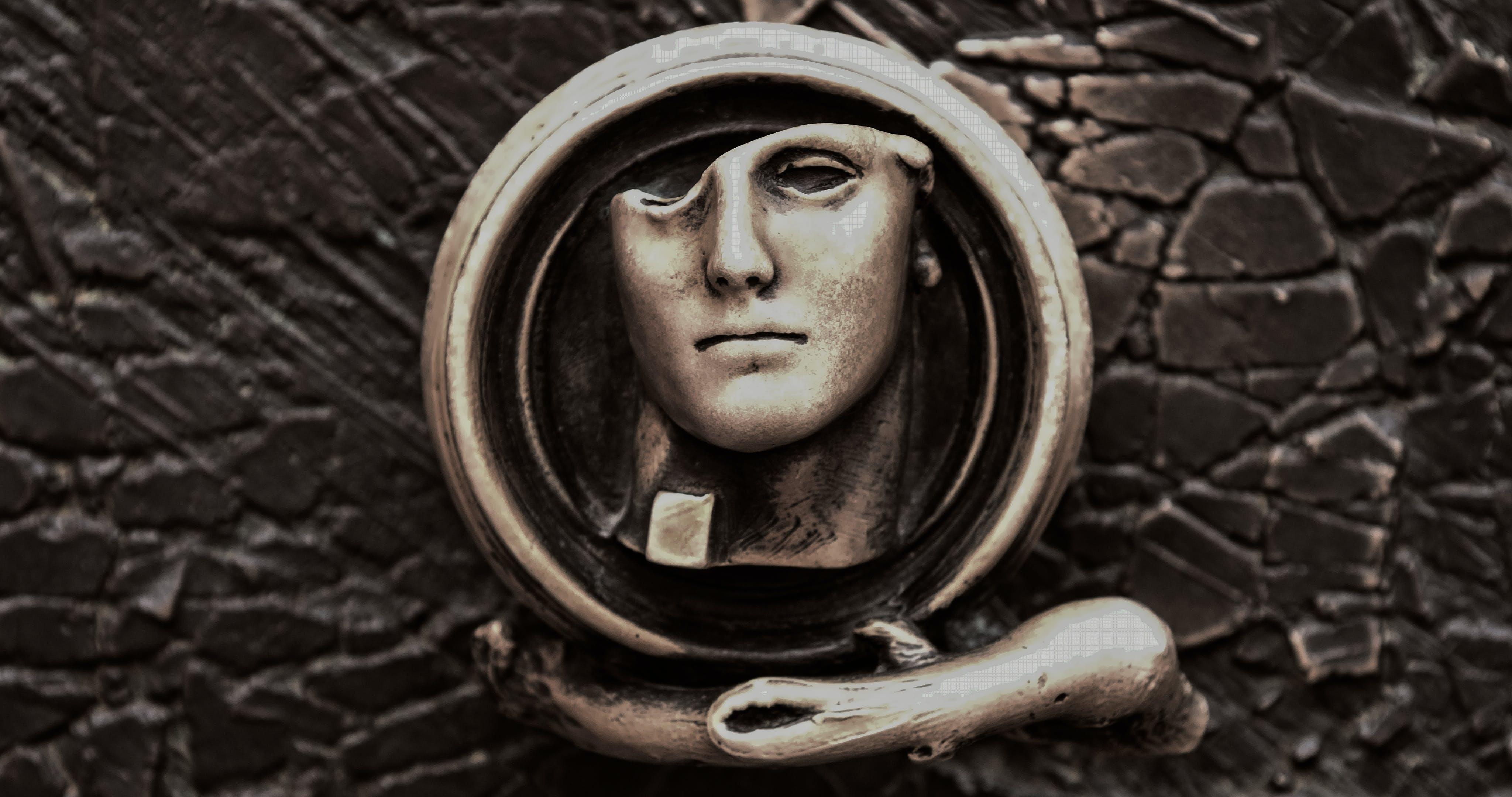 Free stock photo of sculpture, door knob