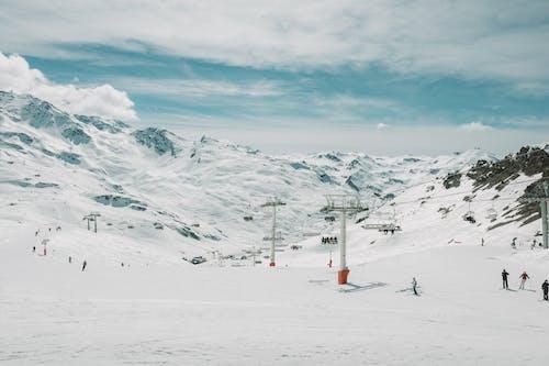 Foto d'estoc gratuïta de a l'aire lliure, alpí, alps francesos, aventura