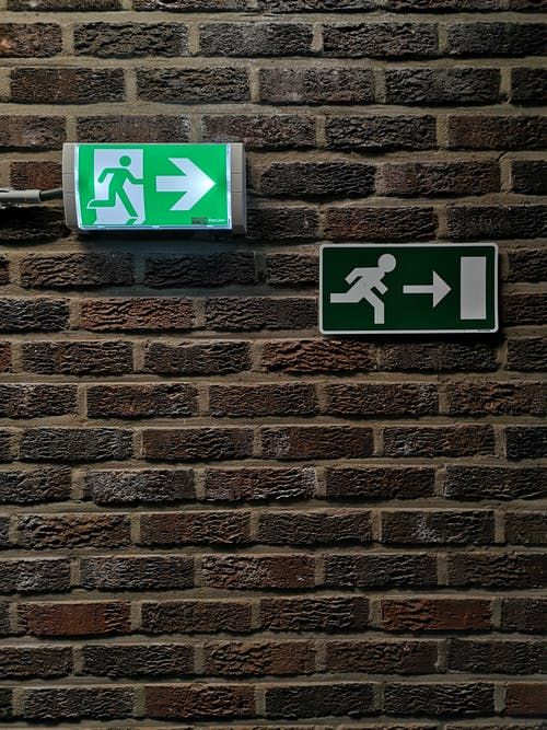 Free stock photo of emergency exit, exit