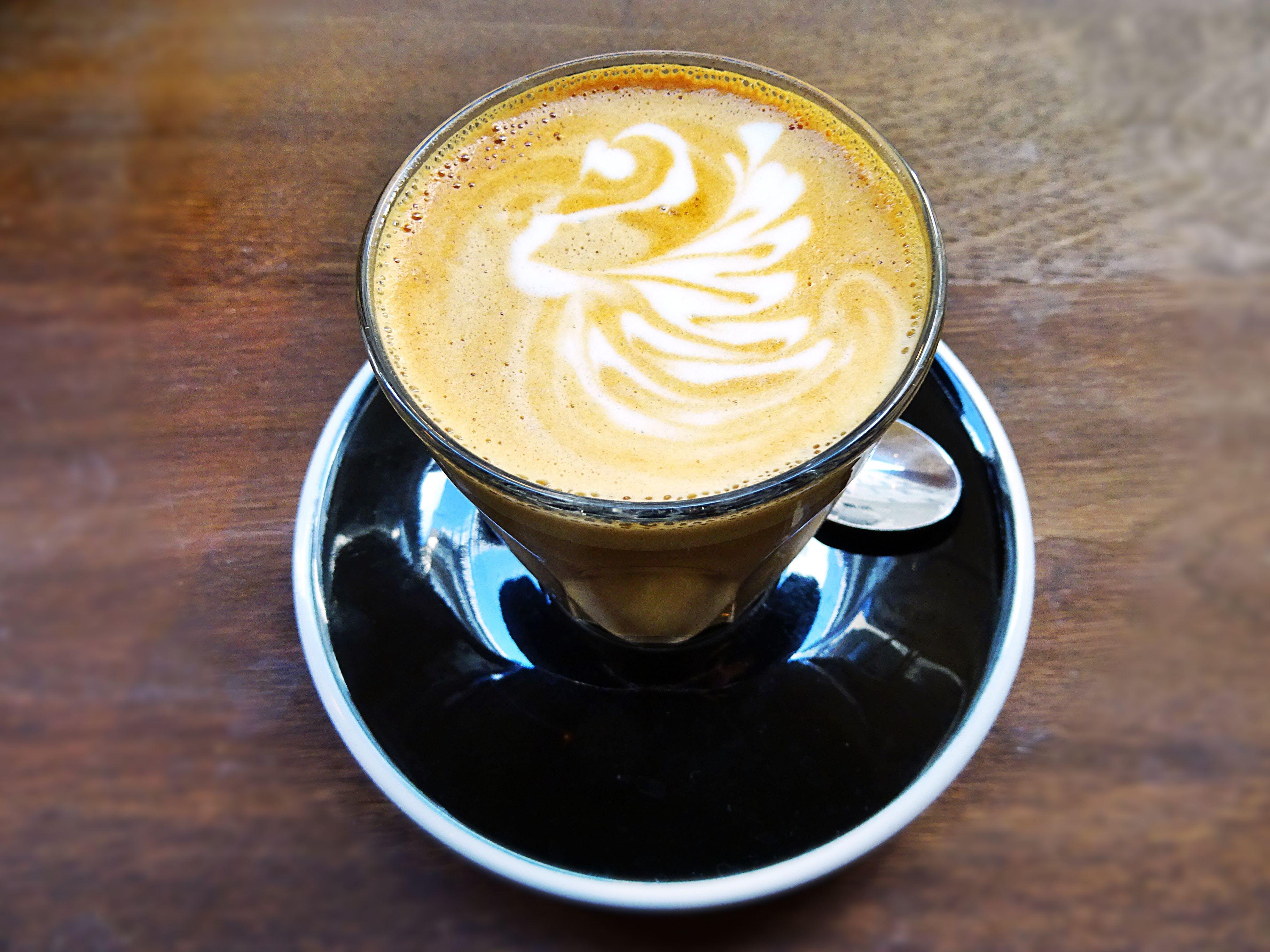 Základová fotografie zdarma na téma caffè latte art, espreso, horko, hrnek