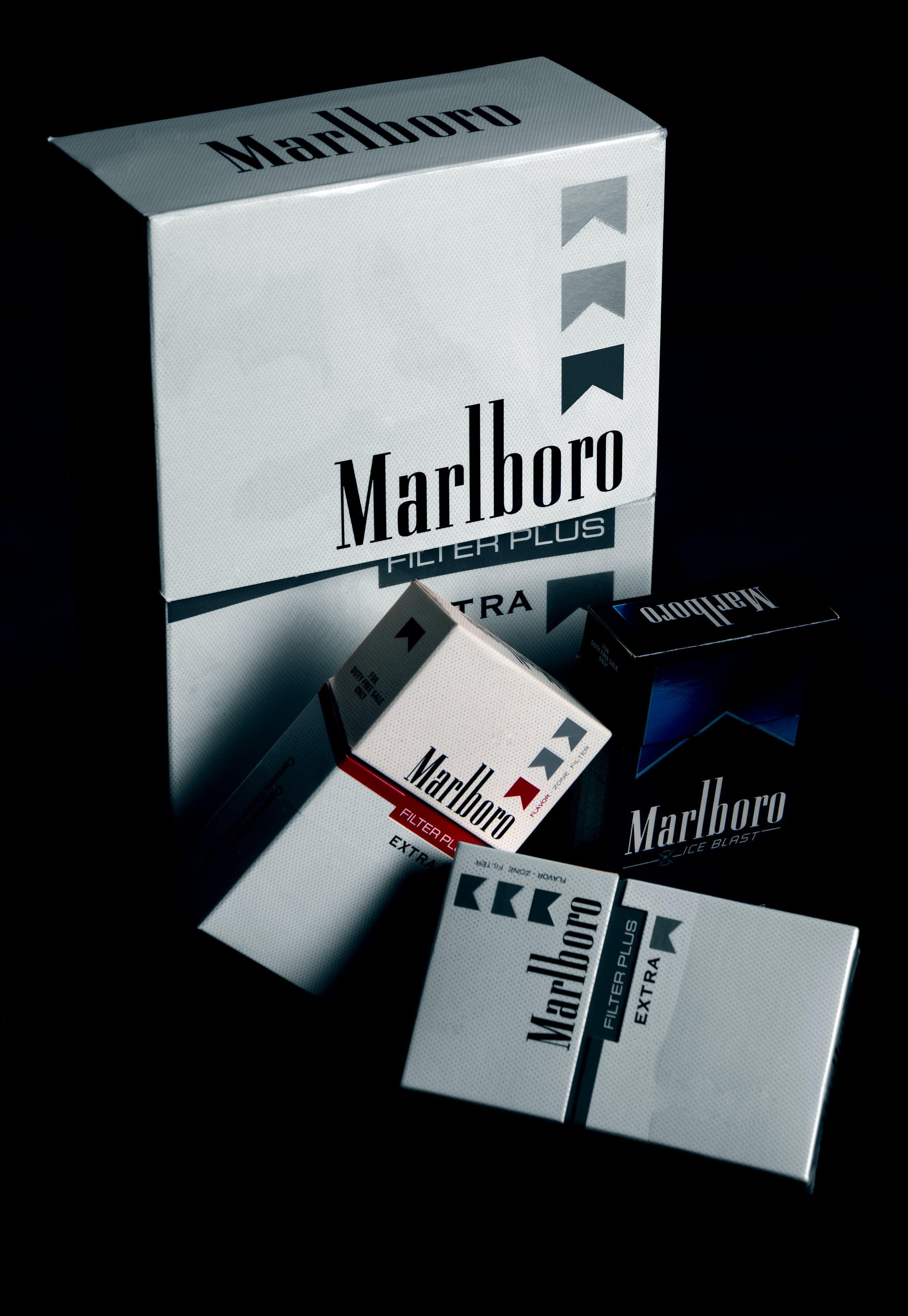 Kostenloses Stock Foto zu marlboro, rauchen, ungesund, zigaretten