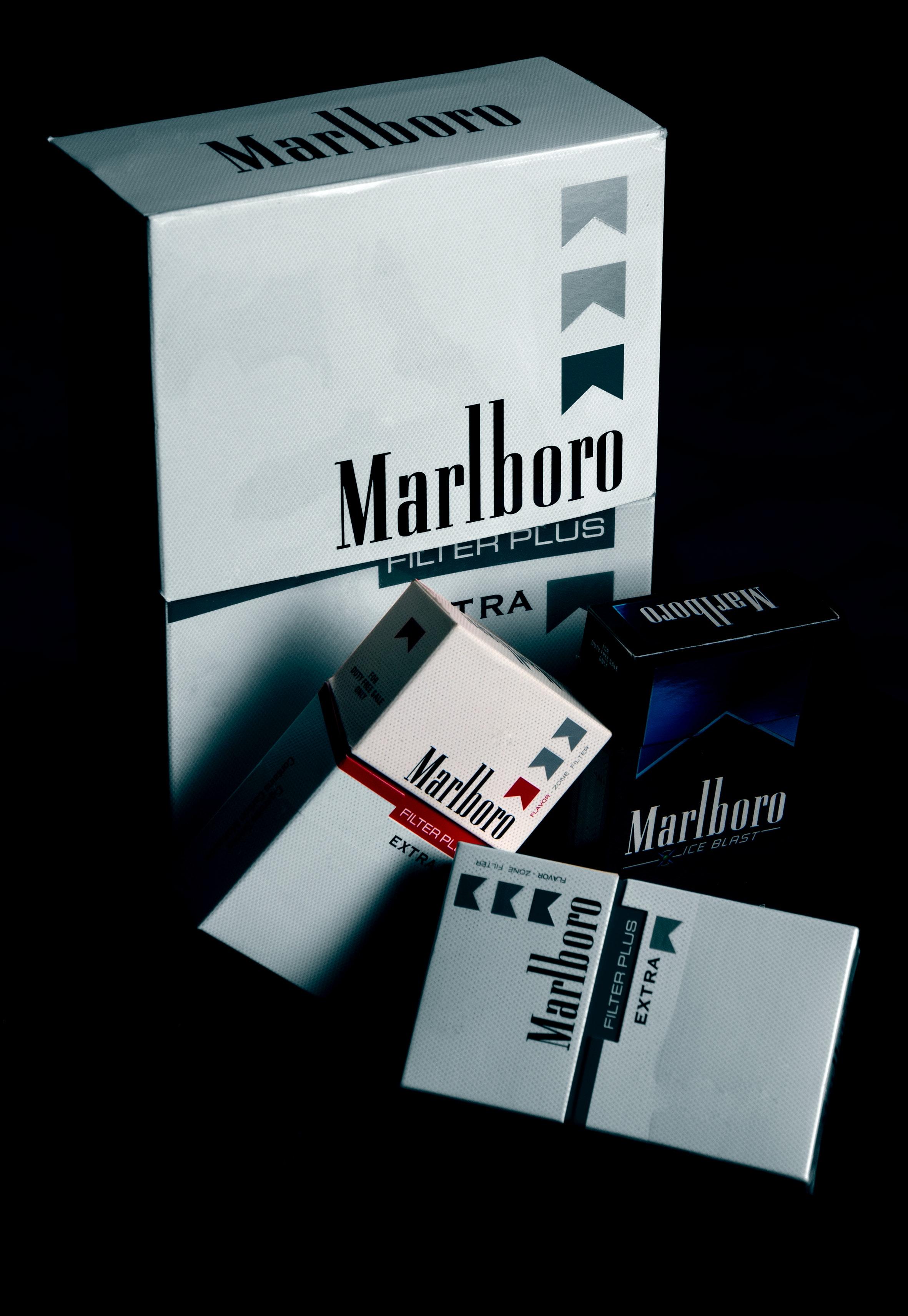 Marlboro Cigarette Boxes · Free Stock Photo