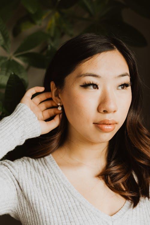 aksesuar, alımlı, Asyalı kadın içeren Ücretsiz stok fotoğraf