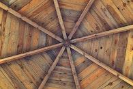 wood, vintage, roof