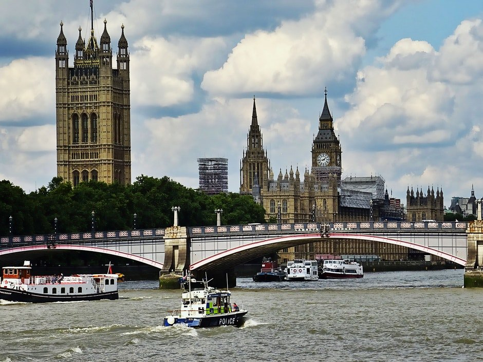 big ben, bridge, buildings