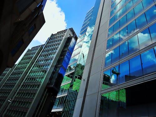 低角度拍攝, 城市, 塔樓, 外觀 的 免费素材照片