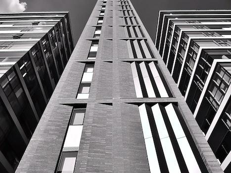 Free stock photo of city, sky, buildings, glass