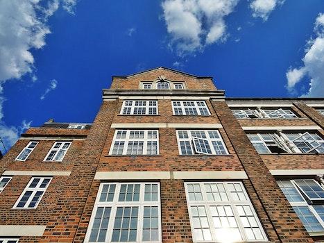 Free stock photo of sky, clouds, building, bricks