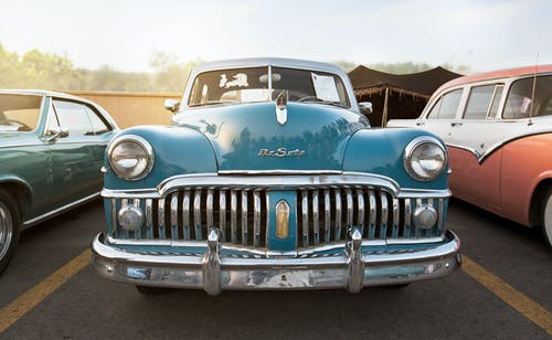 Δωρεάν στοκ φωτογραφιών με desoto, vintage, vintage αυτοκίνητο, αυτοκίνηση