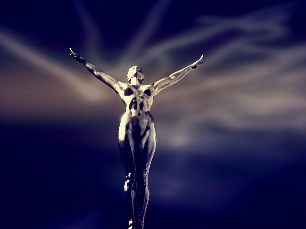 Golden Trophy Digital Illustration