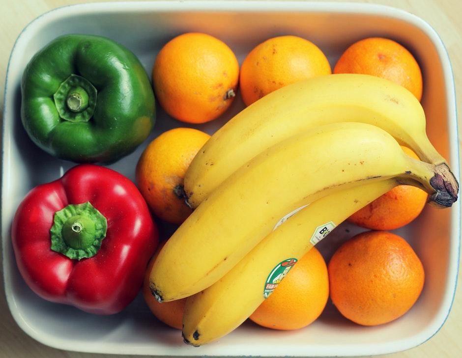 bananas, bowl, diet