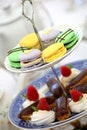 food, plate, chocolate