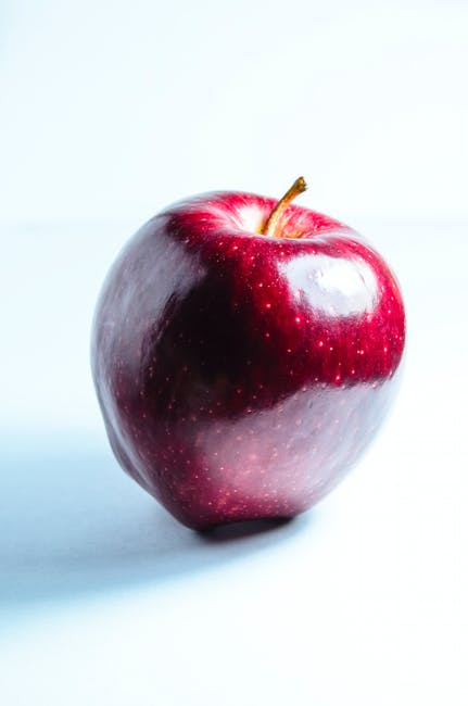 apple, delicious, food
