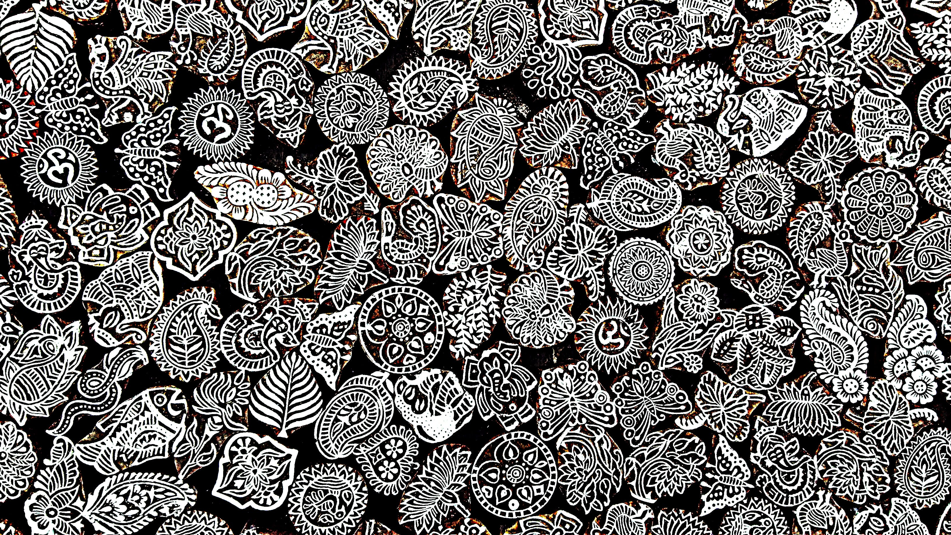 Free stock photo of black-and-white, art, creative, pattern