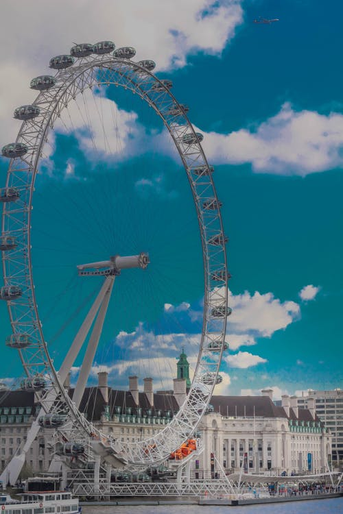 Free stock photo of blue, blue sky, london, london eye