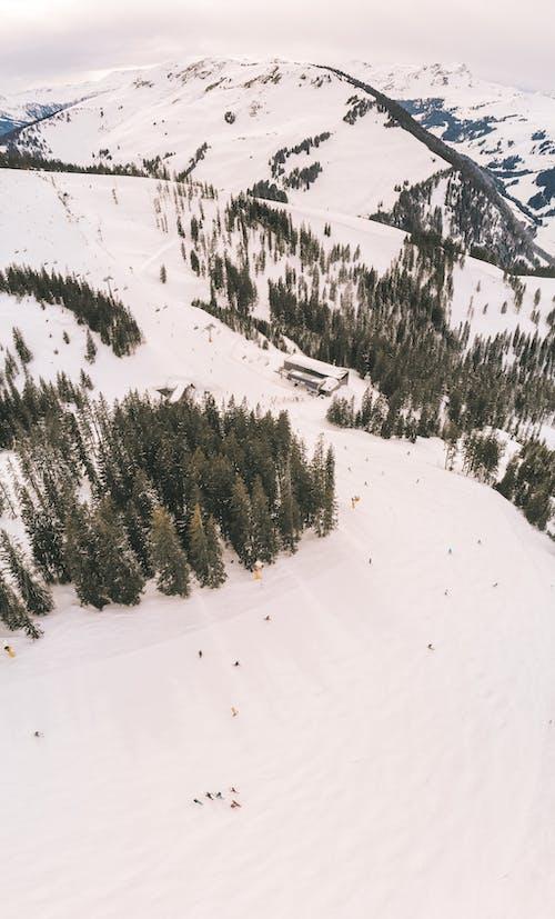 Безкоштовне стокове фото на тему «аерознімок, Альпи, вертикальні постріл»