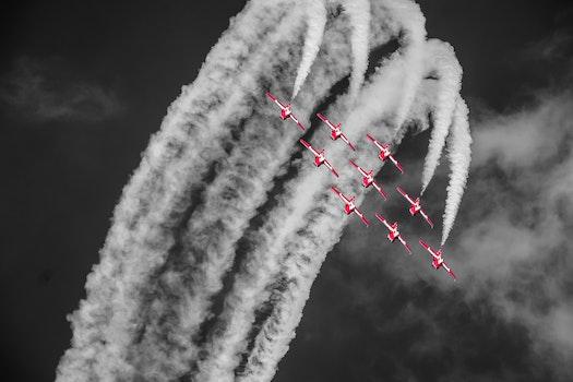 Free stock photo of flight, sky, flying, plane