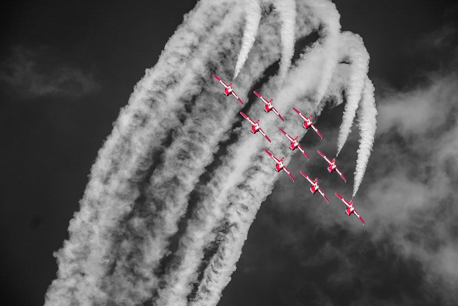 aerobatics, aeroplane, aircrafts