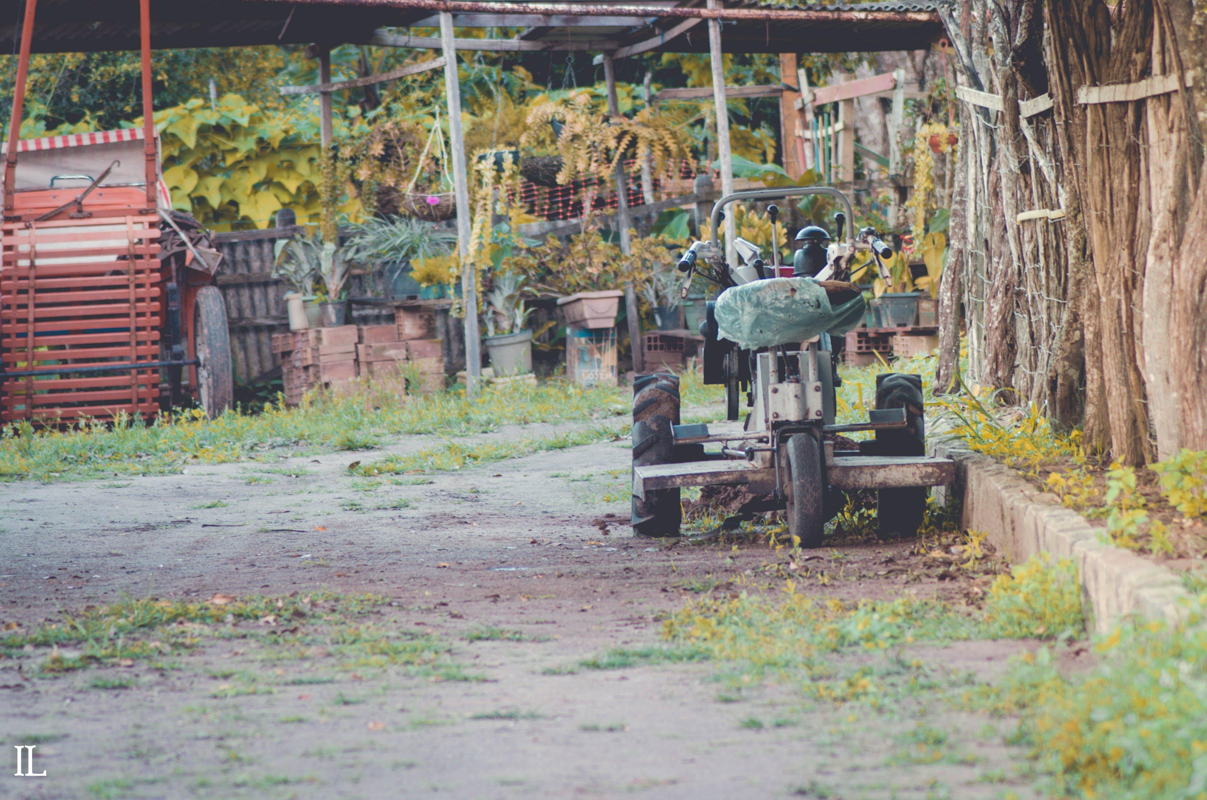 Free stock photo of farm, tractor