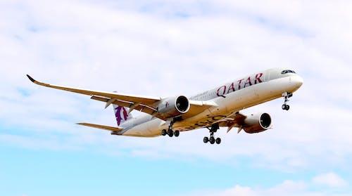 Fotos de stock gratuitas de aerobús, aerolíneas qatar, aeronave
